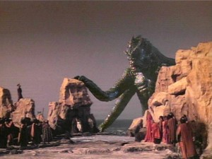 "The Kraken from ""Clash of the Titans"" in 1981"